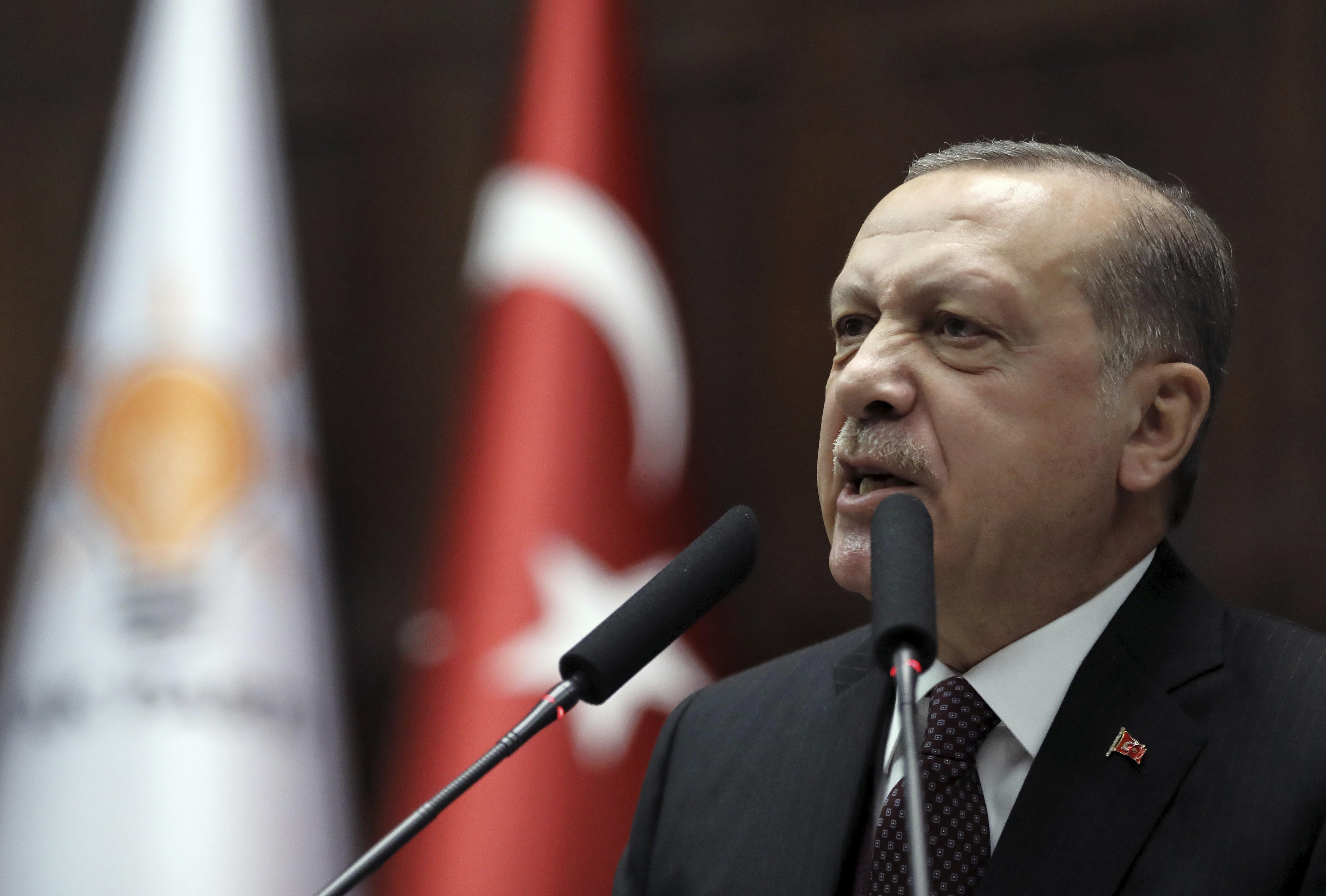 Liderul turc, Recep Tayyip Erdogan, nemulțumit de rezultatul alegerilor locale