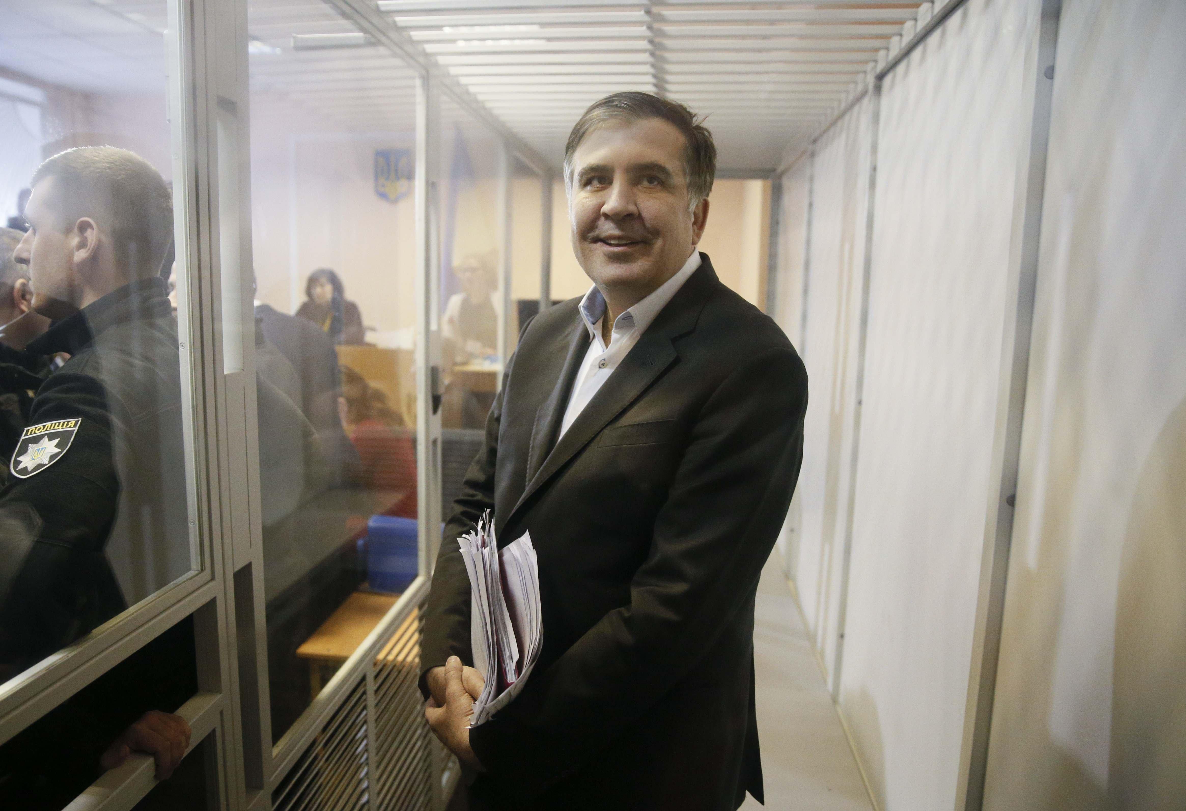 Mihail Saakașvilli, condamnat la închisoare, acuză motive politice pentru această decizie