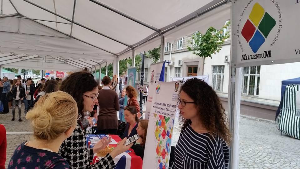 MileniuM, componentă a societății civile din Republica Moldova, susține implementarea Erasmus+
