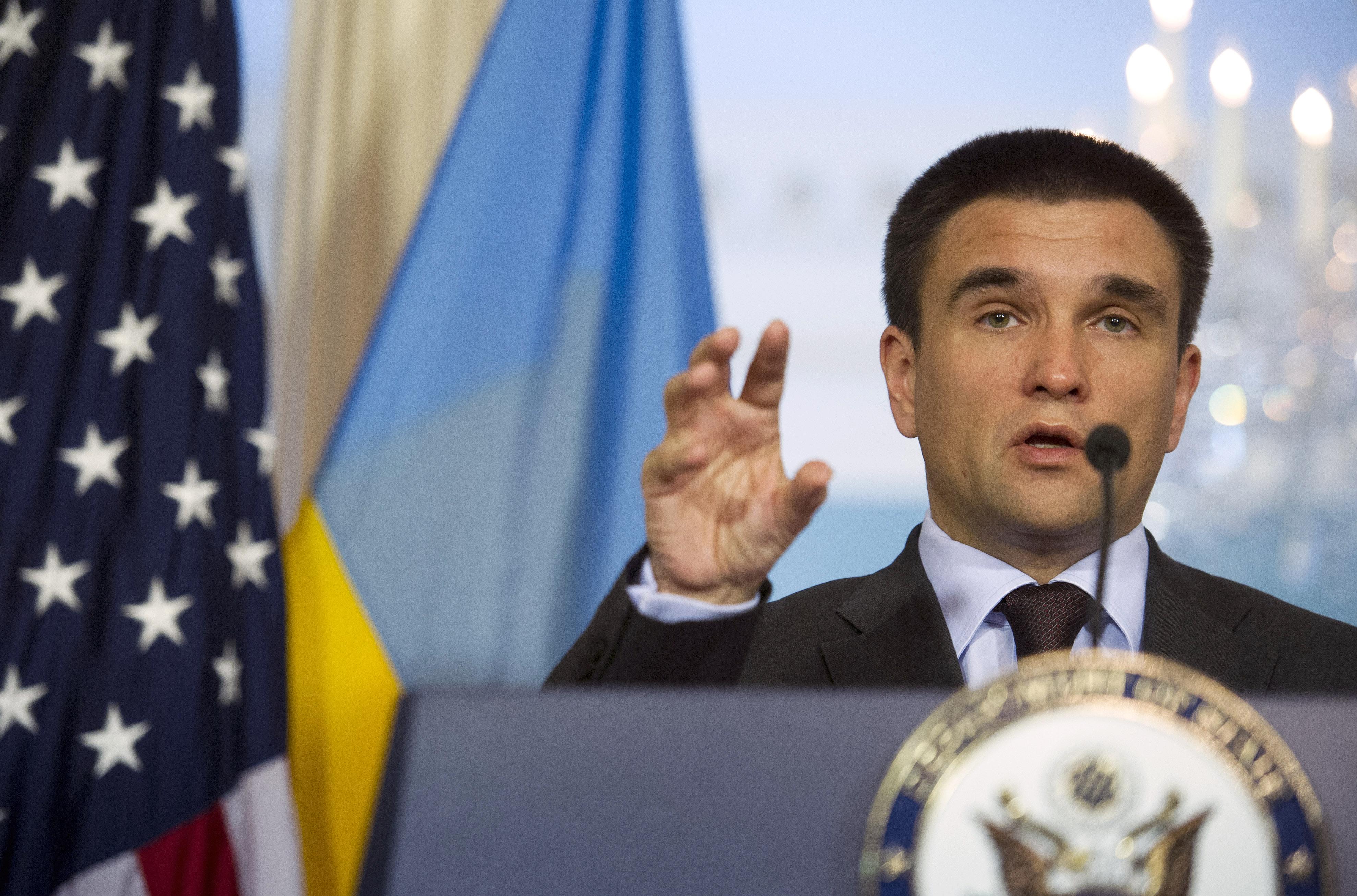 Ministrul de Externe de la Kiev, Pavlo Klimkin, în ofensivă diplomatică în Israel