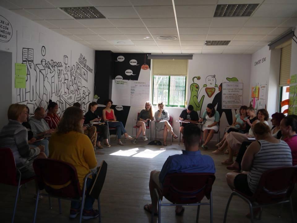 Ong-ul spaniol Cazalla Intercultural a organizat în luna mai traininigul SpreadingBadges, finanțat prin Erasmus+