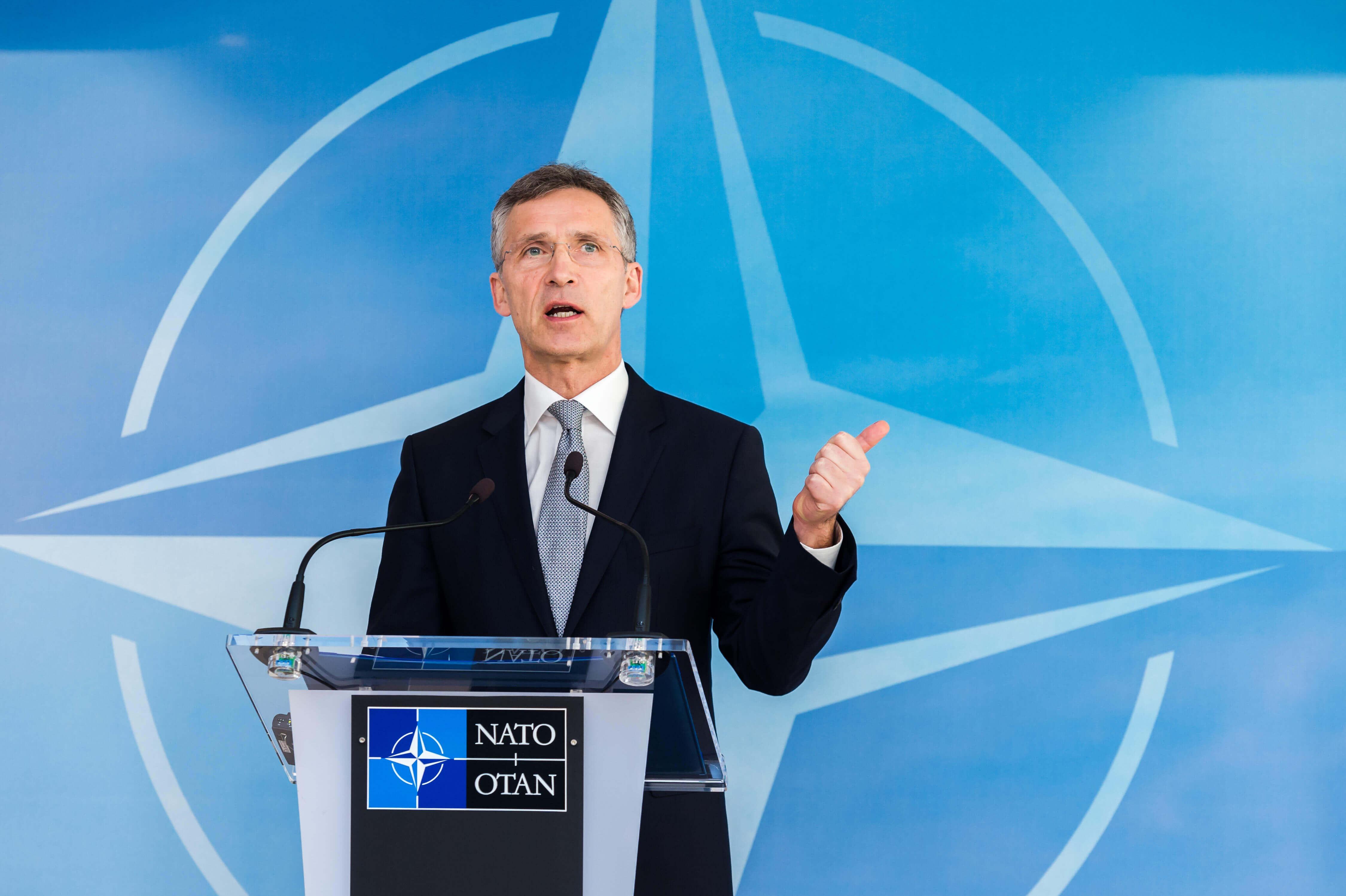 Secretarul general al NATO, Jens Stoltenberg, convins de faptul că NATO va rezista