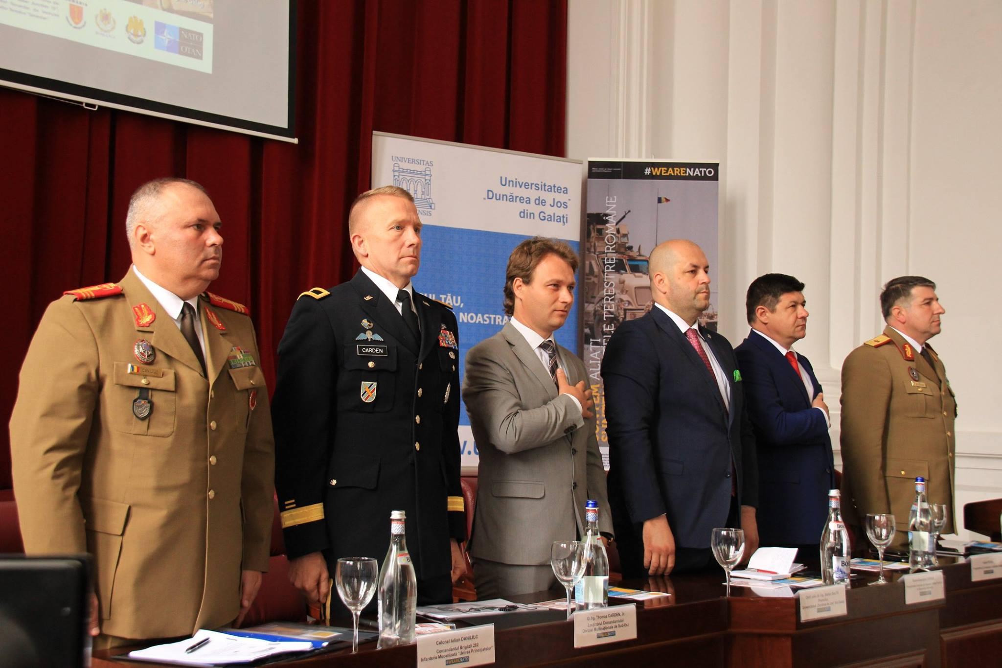 Universitatea gălățeană, pregătită de colaborare cu NATO