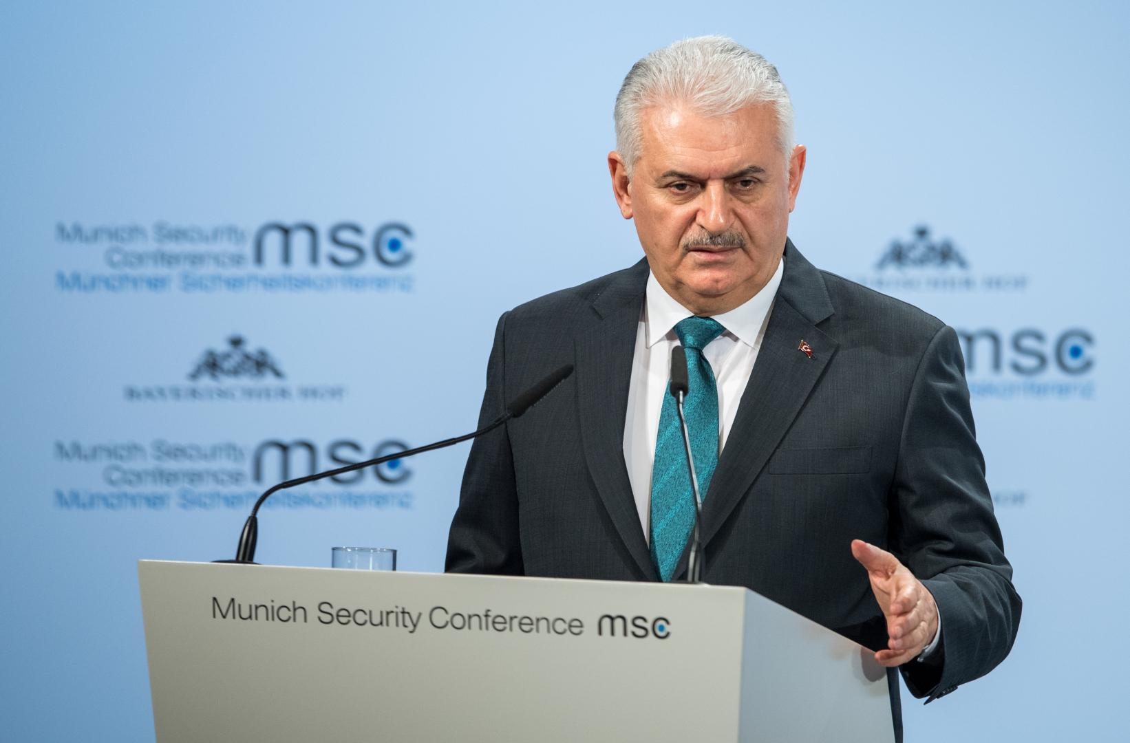 Premierul turc în exercițiu Binali Yıldırim anunță posibila ridicare a situației de urgență