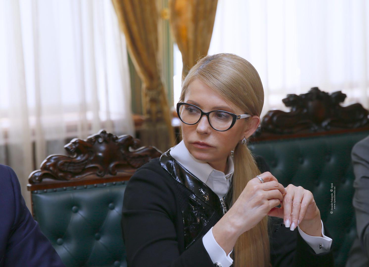 Iulia Timoșenko, pregătită de alegerile prezidențiale