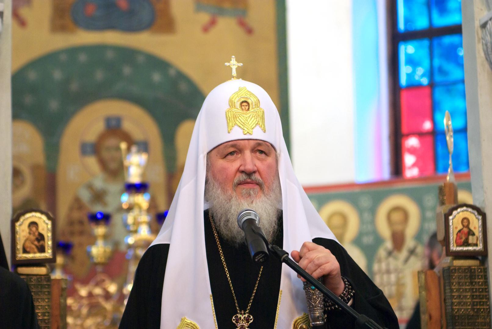 Patriarhul rus Kirill, unul din îngerii geopolitici ai președintelui Dodon