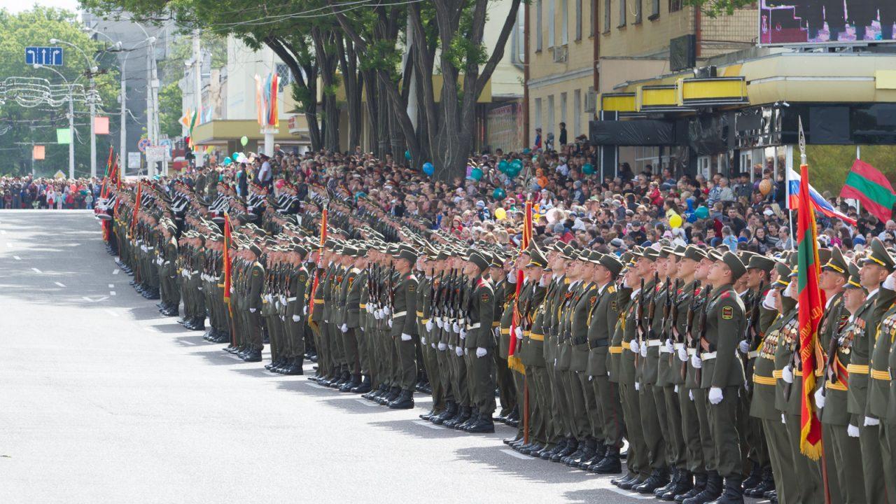 Prezenta rusa in enclava militarizata Transnistria, ignorata de Chisinau