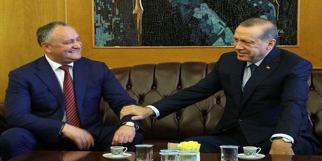 Președintele Igor Dodon este mândru de relația sa cu Erdogan
