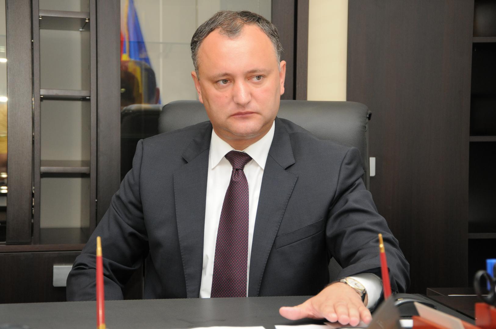 Igor Dodon se vrea jucător politic major la Chișinău