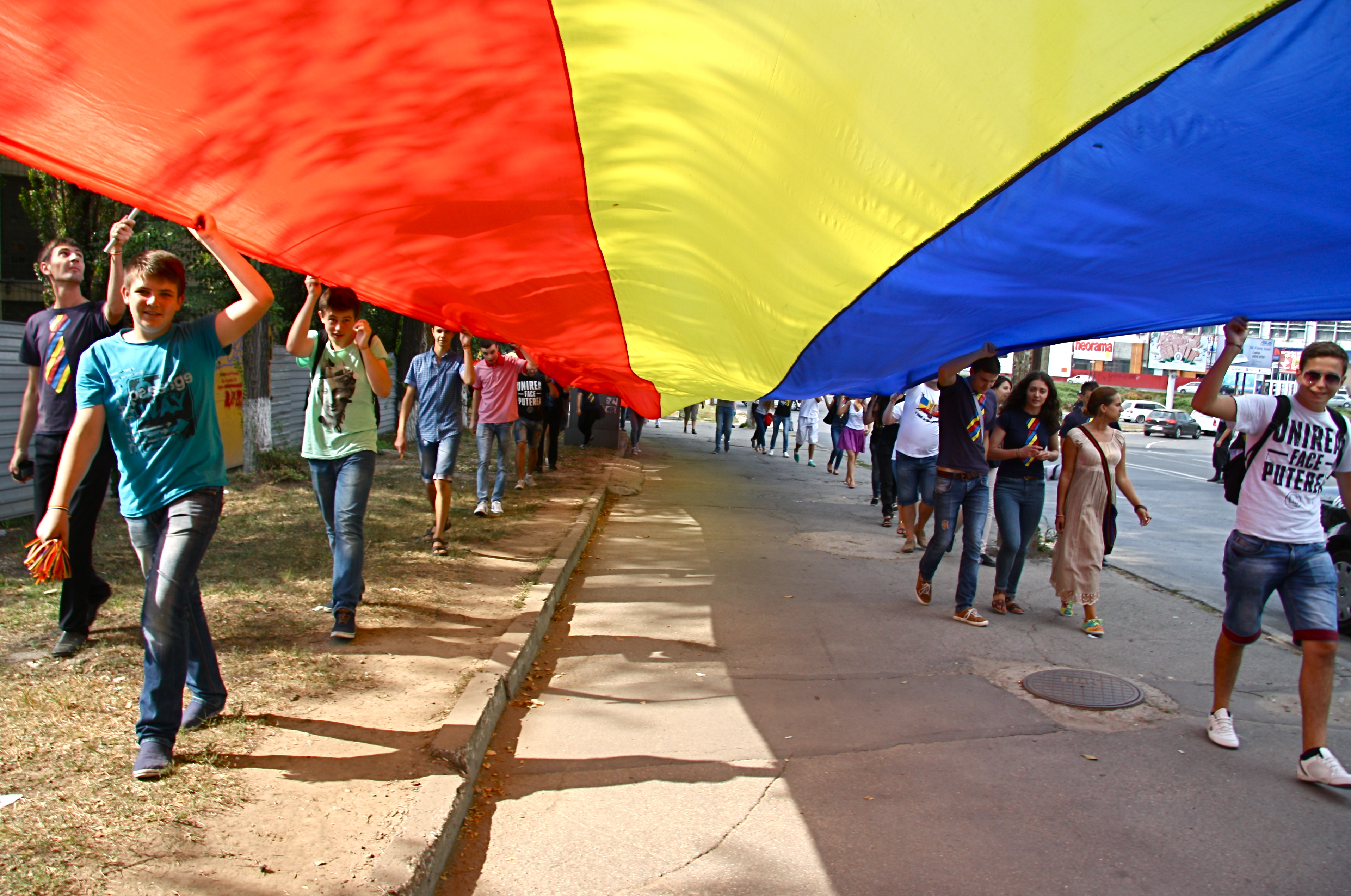 Manifestatiile unioniste, o constanta a ultimilor ani la Chisinau