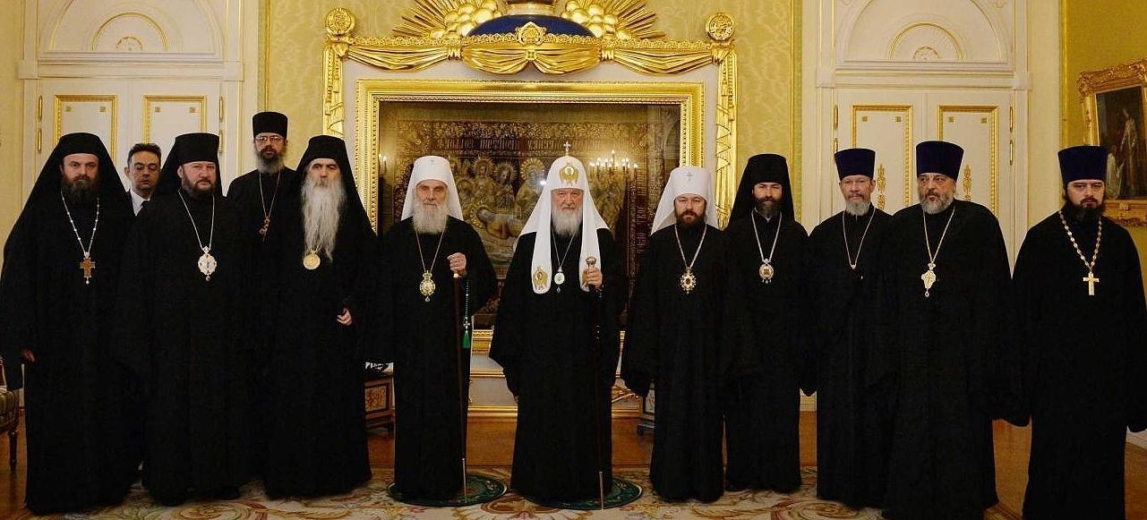 Patriarhul sarb Irineu este un apropiat al omologului rus Kirill