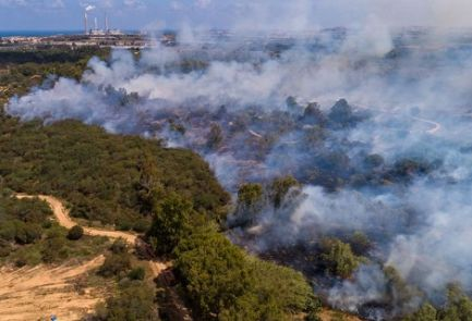 Sudul statului Israel, incendiat de Hamas