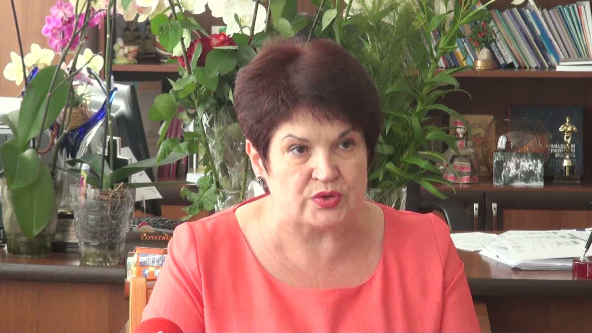 Valentina Buliga, o apropiată a oligarhului Vladimir Plahotniuc, a fost aprig contestată de opoziția de la Chișinău