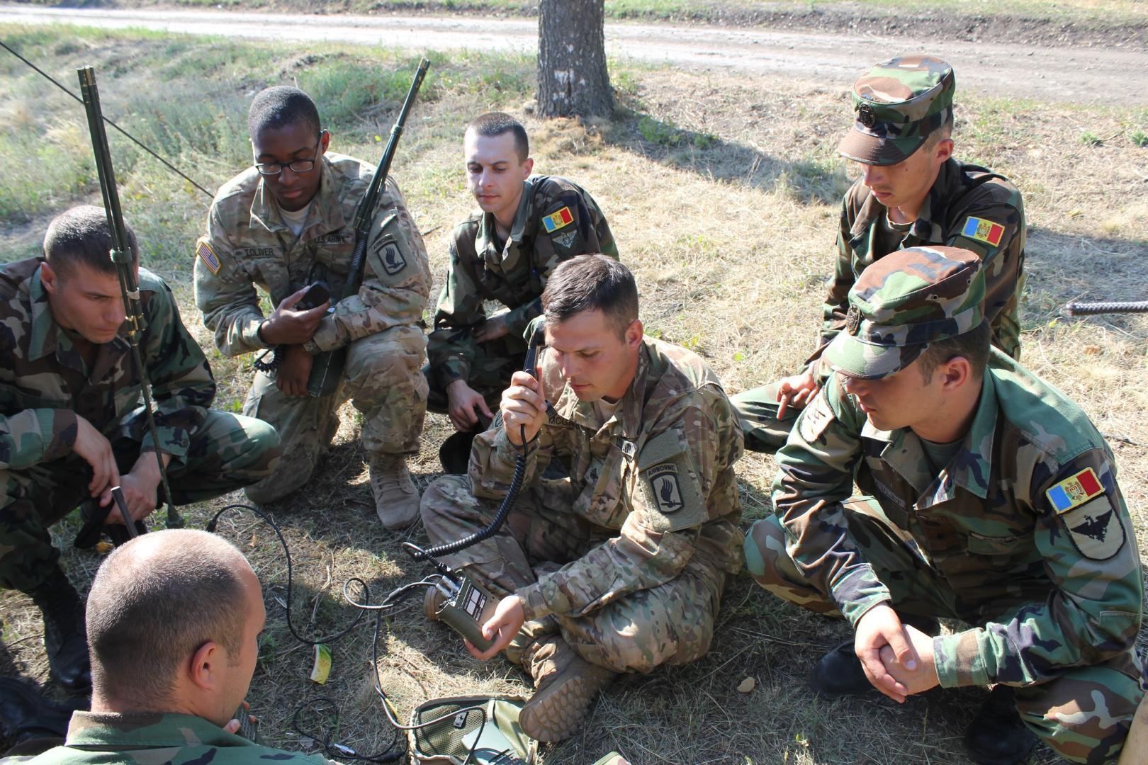 Armata Republicii Moldova beneficiază de sprijinul NATO