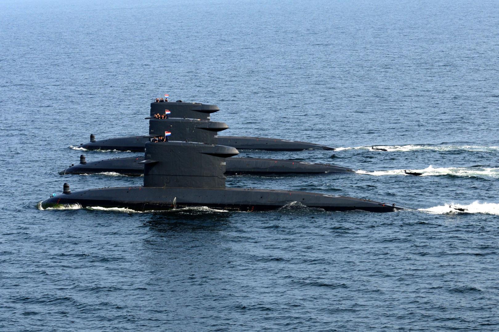 Submarine olandeze, vârf de lance în exercițiile militare NATO