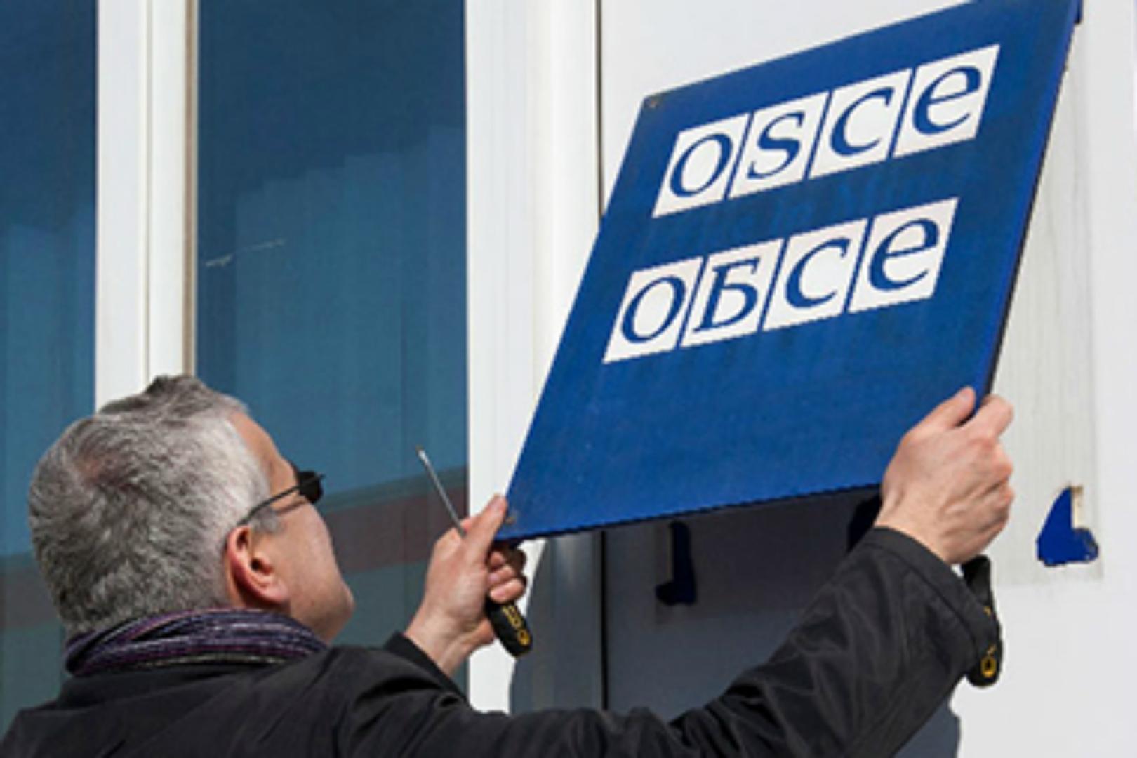 OSCE, simplu martor în războiul din Donbass