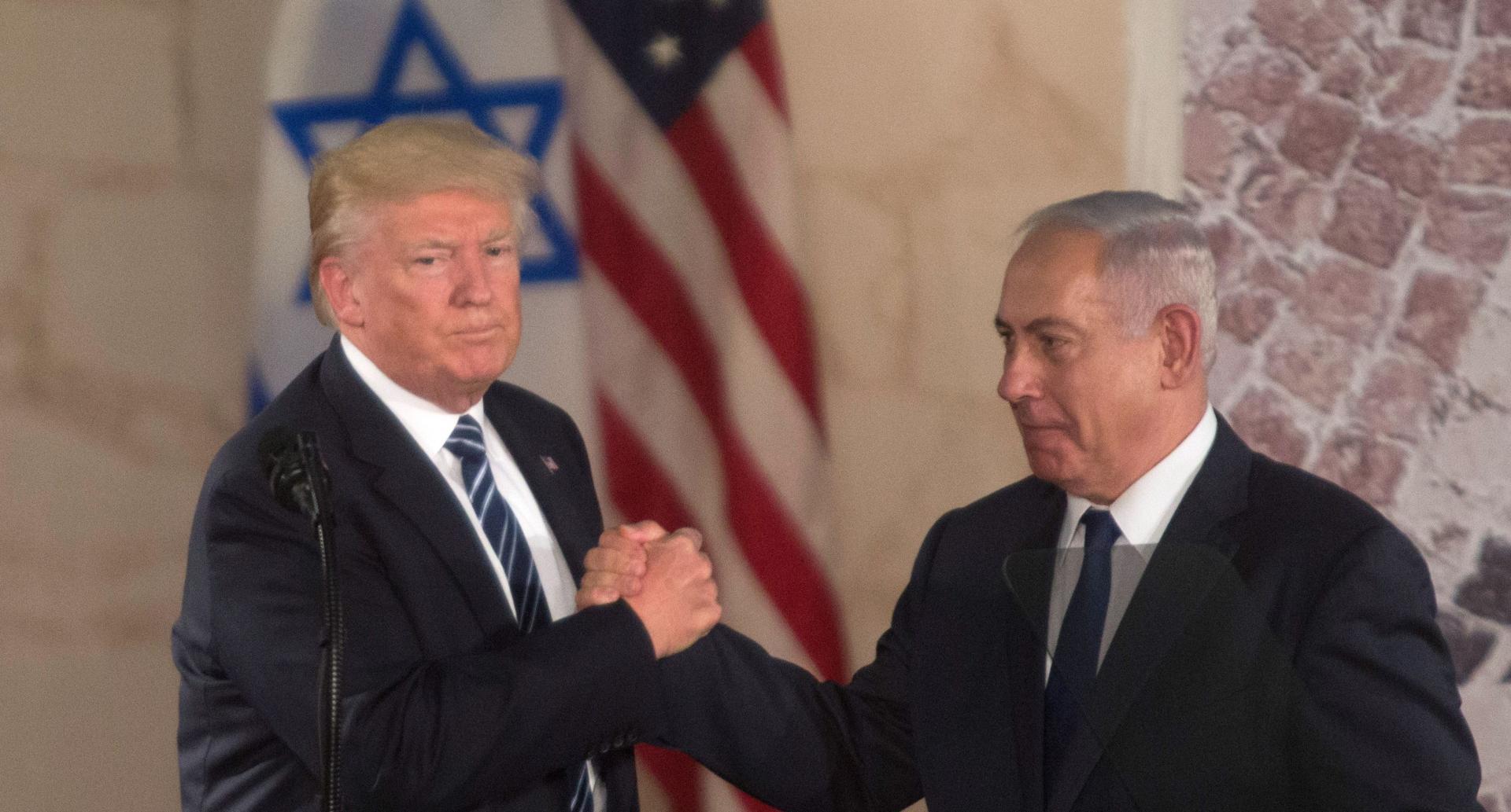 Presedintele SUA, Donald Trump, are o relatie apropiata cu premierul israelian Benjamin Netanyahu