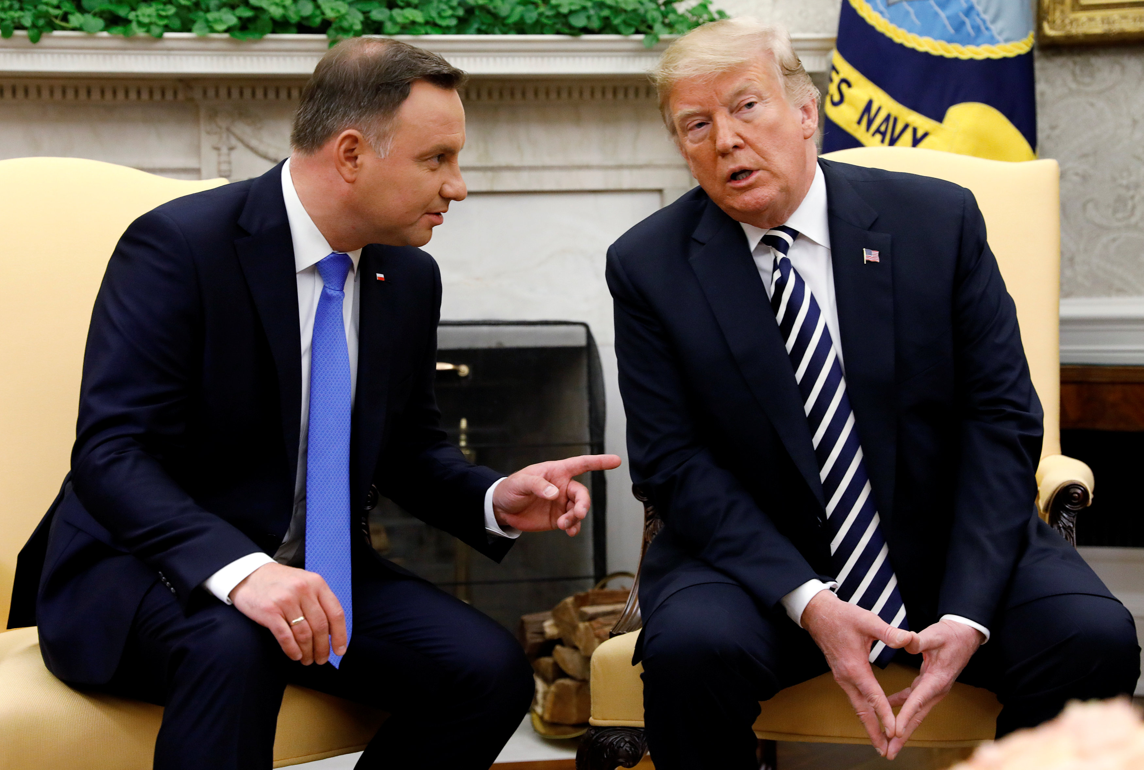 Presedintele-polonez-Duda-vrea-sa-isi-consolideze-relatiile-cu-Donald-Trump