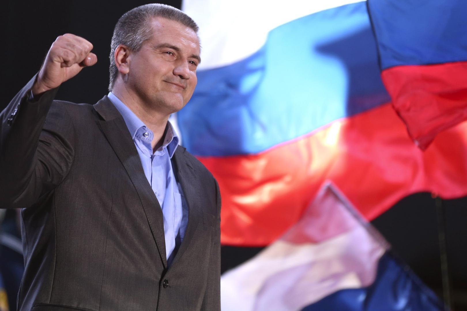 Serghey Aksyonov, liderul pro-rus la Crimeei, în pelerinaj diplomatic la Damasc