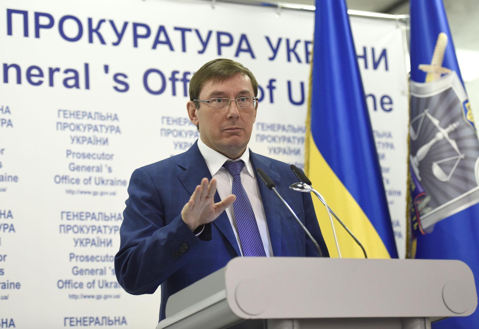 Procurorul General al Ucrainei, Iurii Luțenko, demisionează din funcție