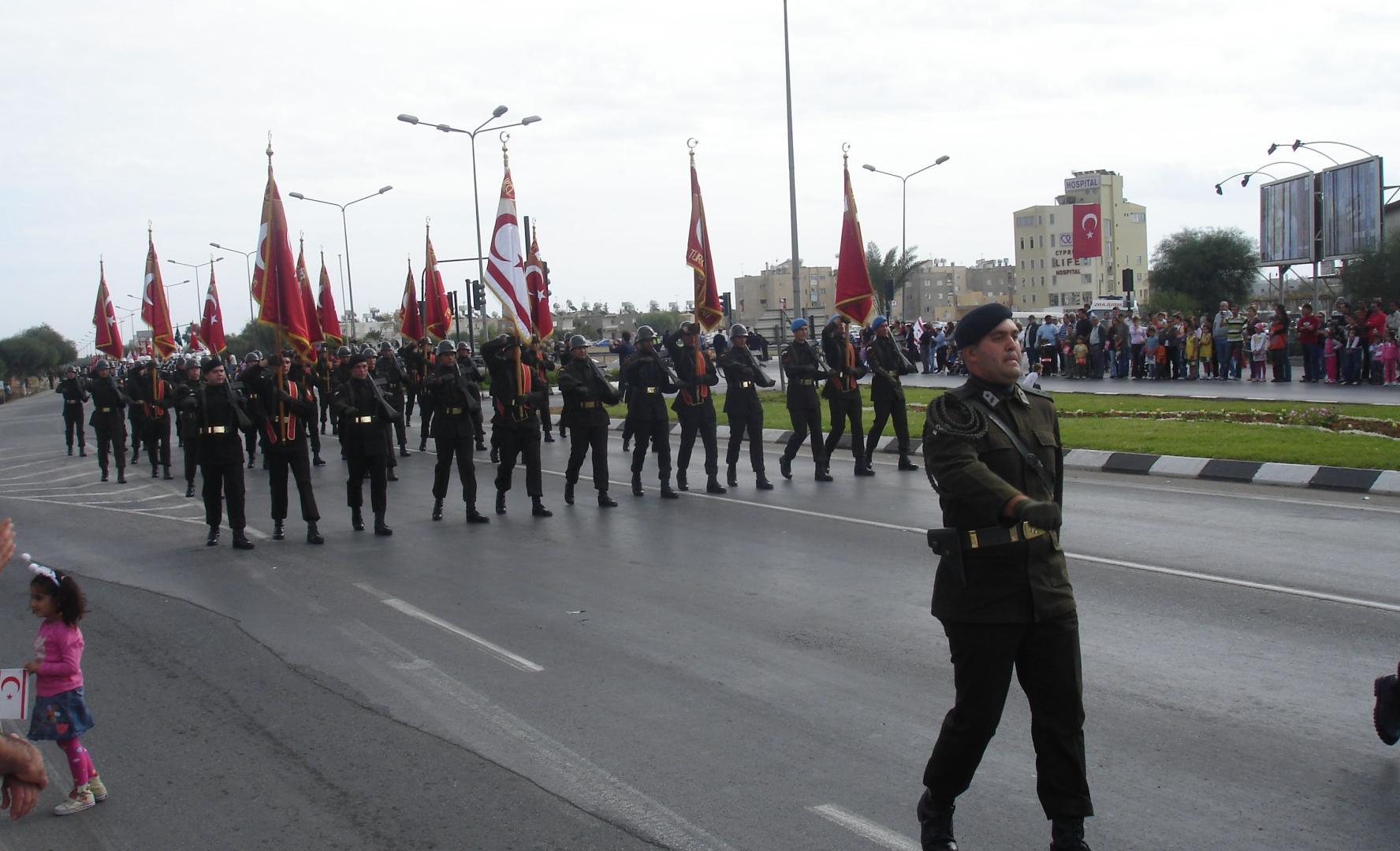Armata turcă, o prezență obișnuită în Ciprul de Nord