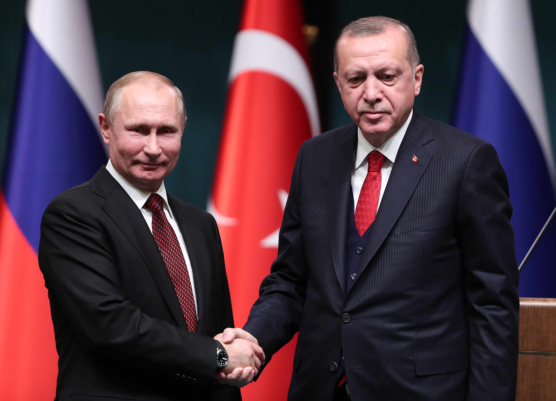 Liderul-turc-Erdogan-satisfacut-de-bunele-relatii-cu-omologul-sau-rus-Vladimir-Putin