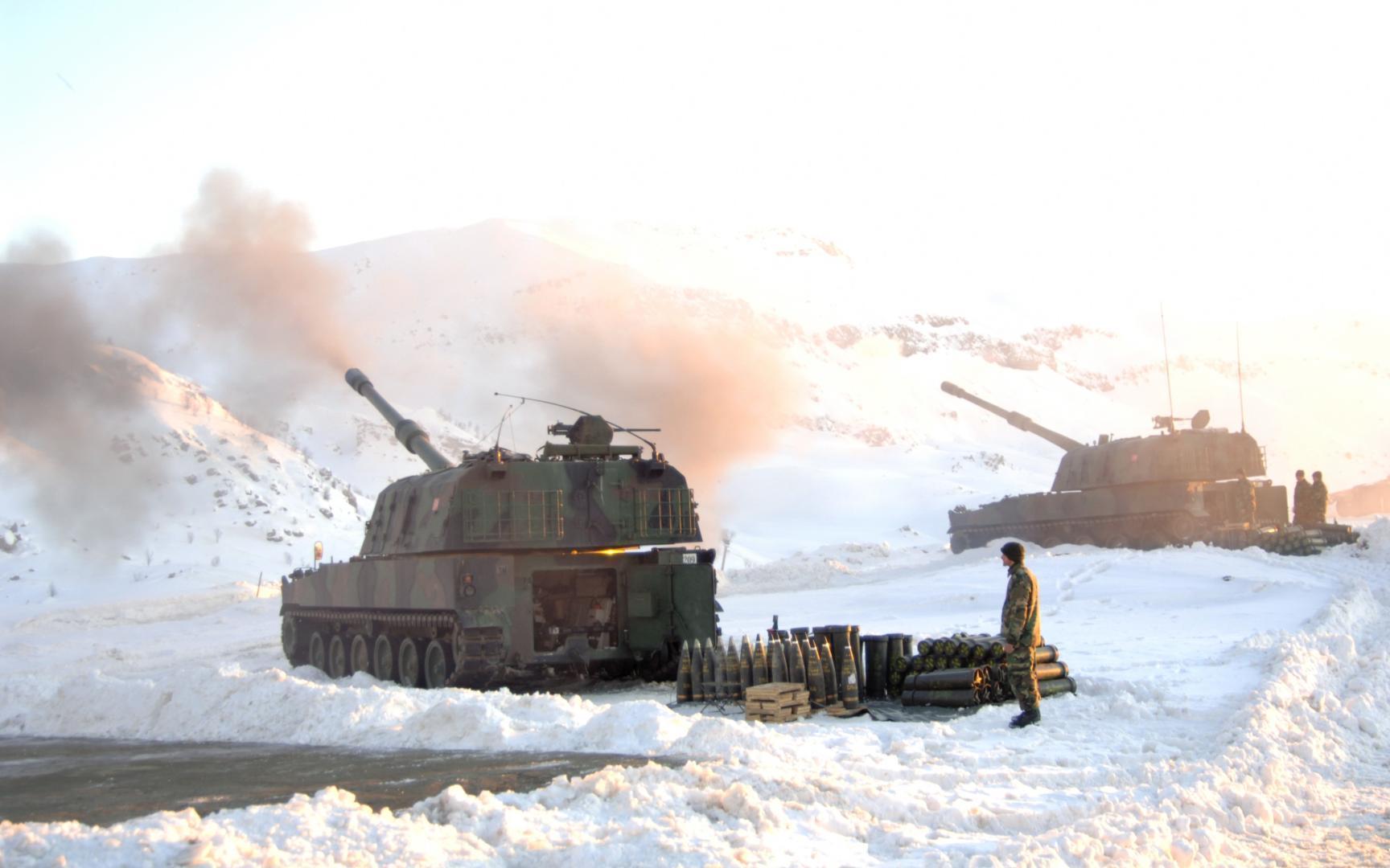 T-155 Fırtına și-a dovedit eficacitatea în luptele cu rebelii kurzi
