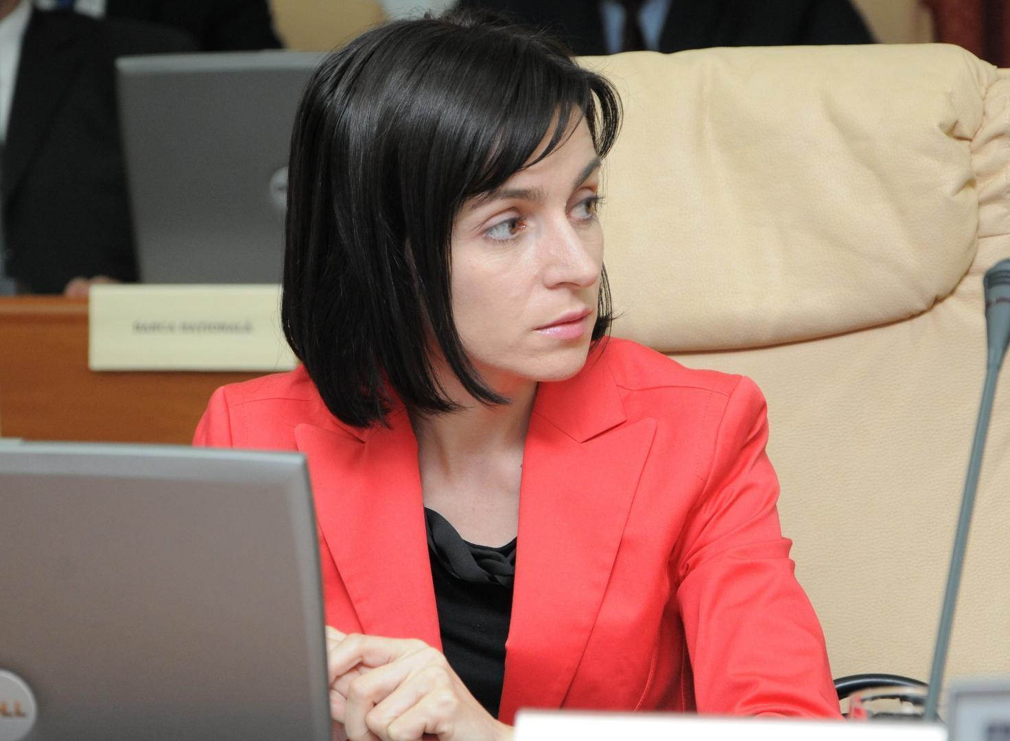 Maia Sandu, lidera PAS, victimă a propagandei guvernamentale