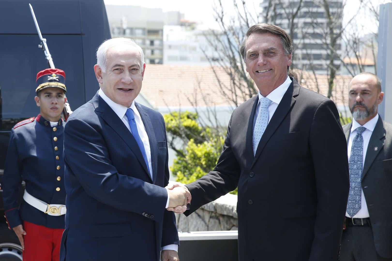 Liderul brazilian Bolsonaro, aliat strategic pentru premierul israelian Netanyahu