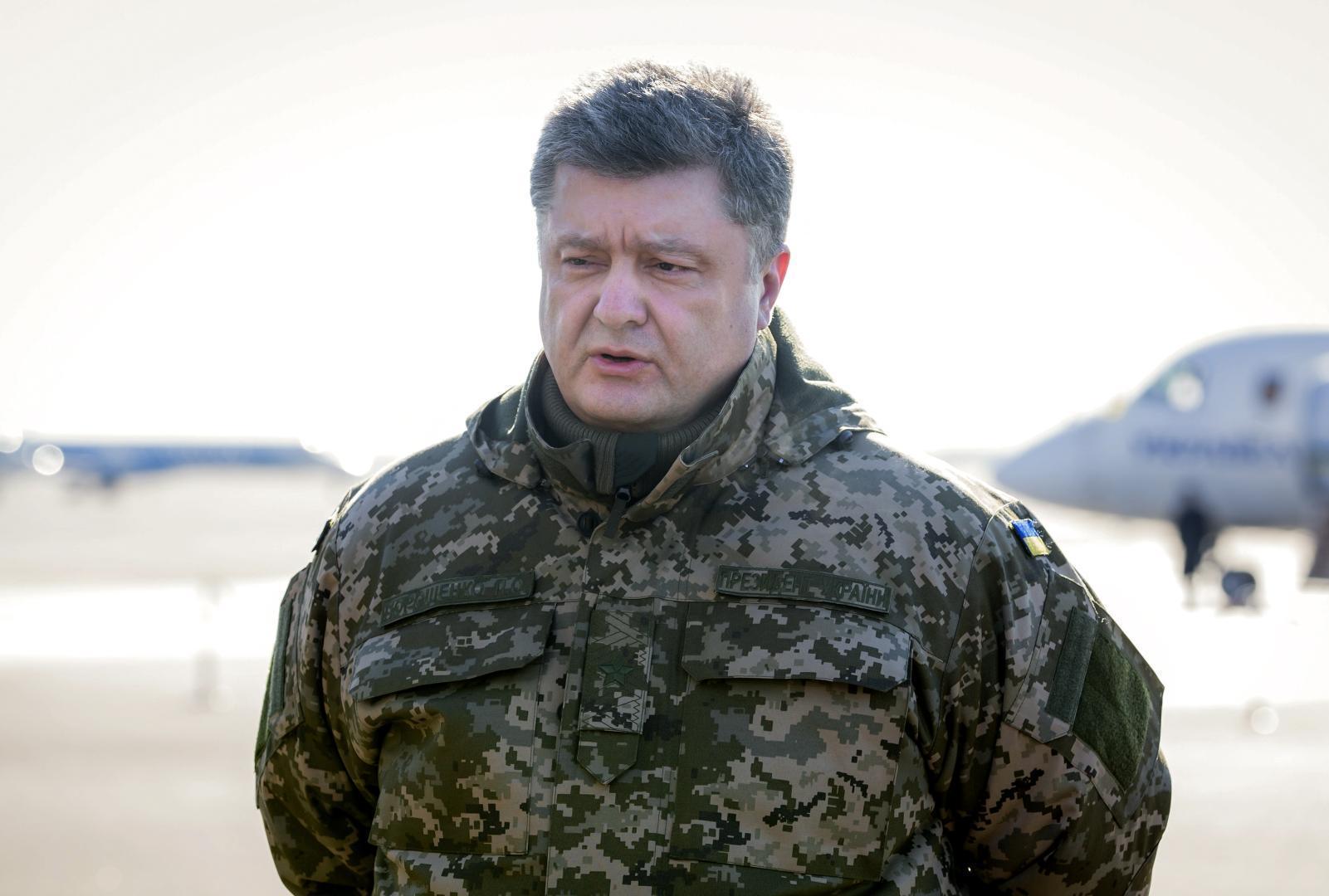 Liderul de la Kiev, Petro Porosenko, ingrijorat de alegerile prezidentiale