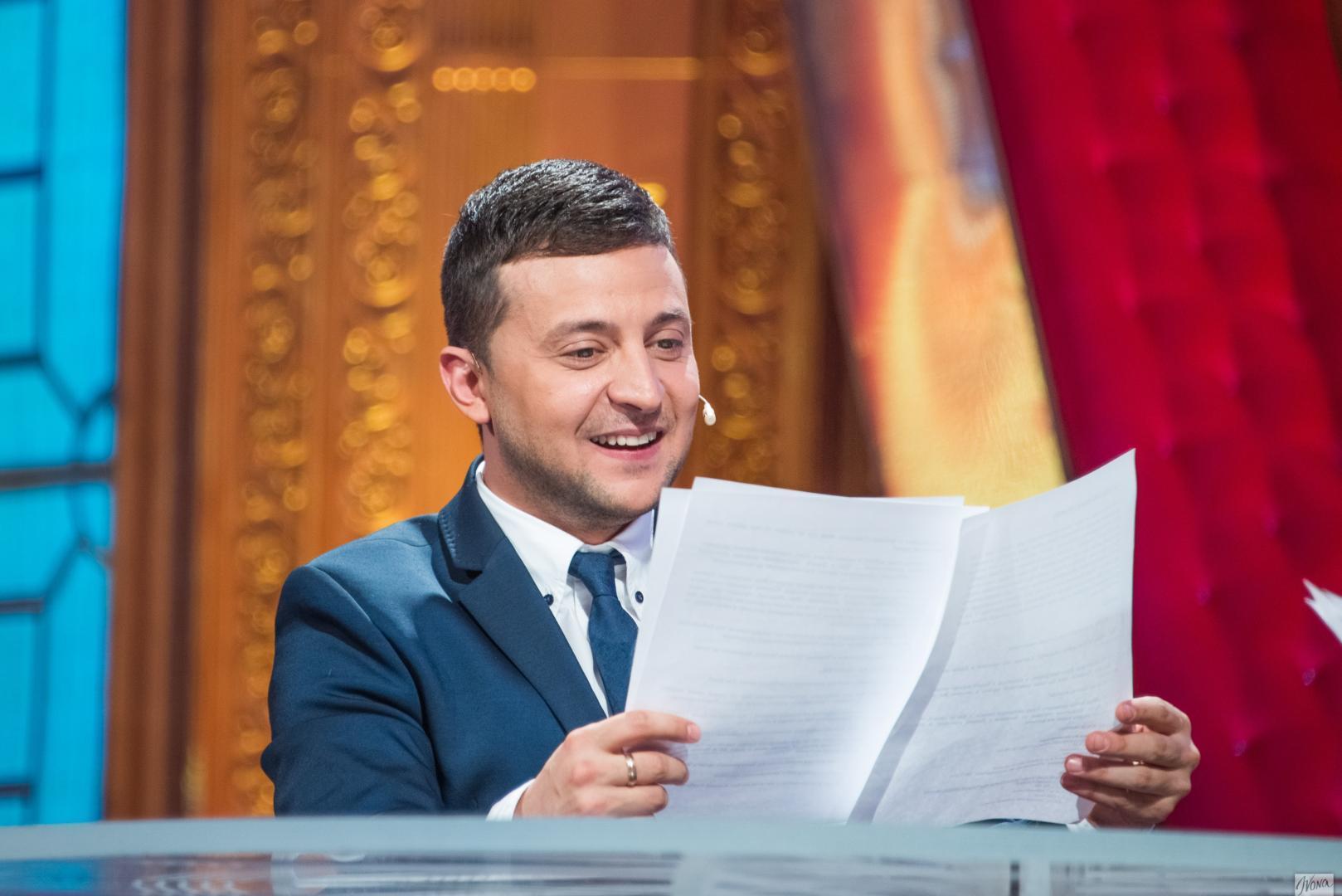 Zelenski, unul din favoritii alegerilor prezidentiale din Ucraina