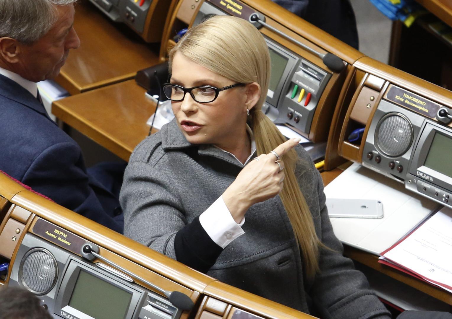 Iulia Timoșenko, convinsă de propria victorie la prezidențiale