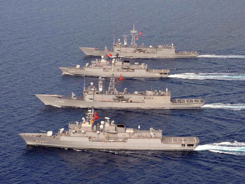 Flota militară turcă, desfășurată în apele cipriote