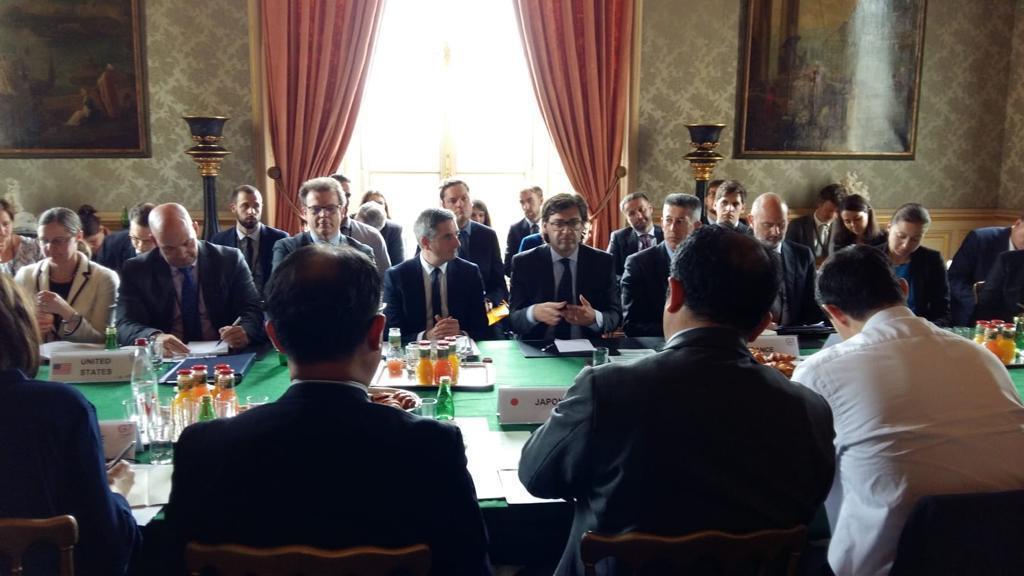 Ministru de Externe Popescu, față în față cu G7