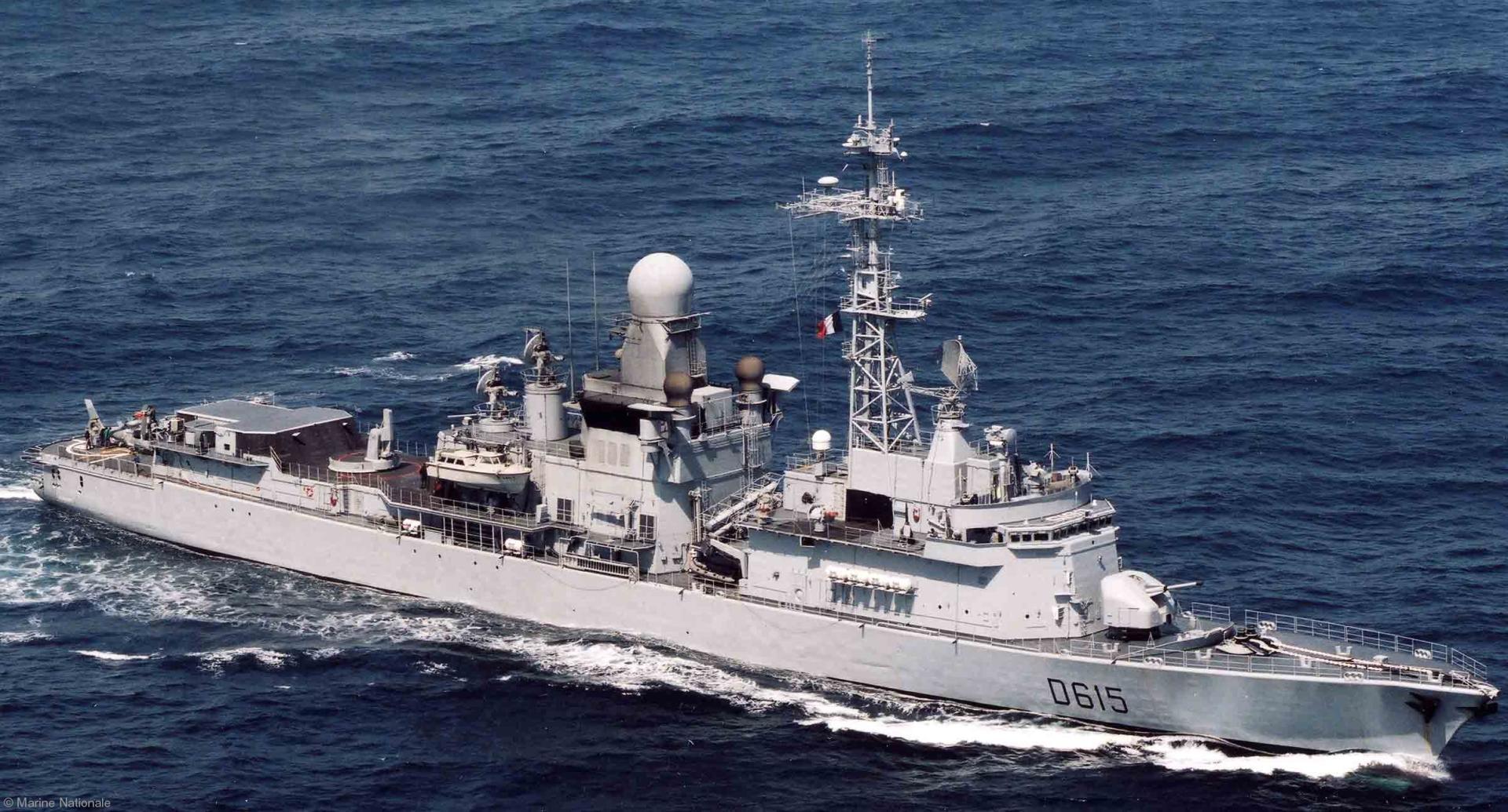 Fregata franceză Jean Bart a participat la implementarea embargoului