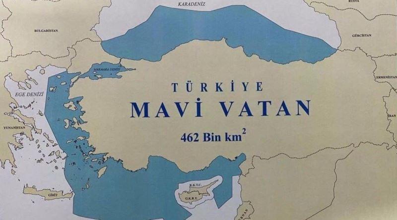 Mavi Vatan (Patra Albastră), ampla strategiei turcă de apărare a intereselor maritime