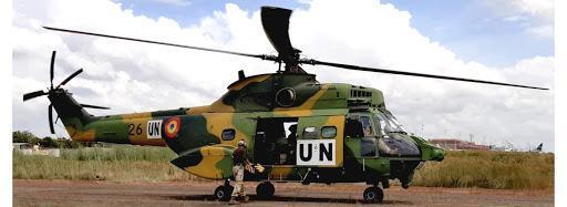 IAR 330 PUMA, în misiune în Mali